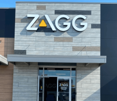 front view of Zagg building